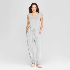 Other - Soft lounge jumpsuit with drawstring